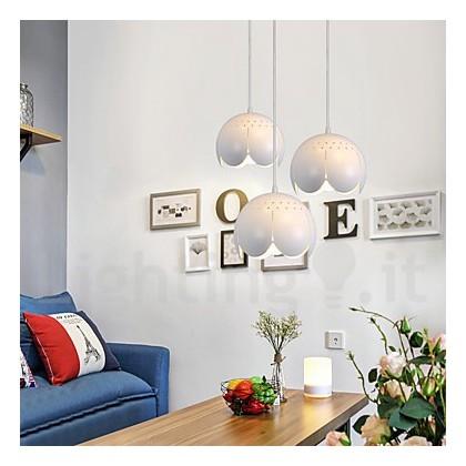 3 luci luce moderna/ contemporanea per il soggiorno ...