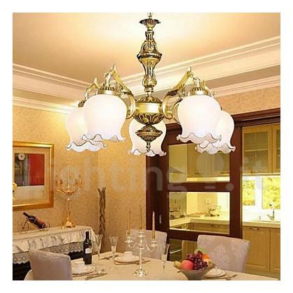 Rustico/ campestre Vintage Tradizionale/ Classico Paese Lampadari Per  Salotto Camera da letto Sala da pranzo Sala studio/ Uffici